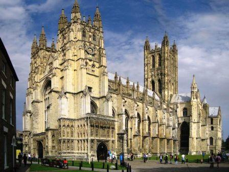 5 nights Biking Garden of England London to Dover. Canterbury Cathedral