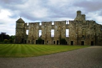 5 nights Cycling Historical Scotland Edinburgh & Fife, Inside Falkland Palace