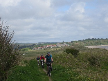 9 nights Newcastle to Edinburgh coast and castles Cycling through the duns along the coast