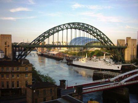 5 nights Cycling North England Newcastle Berwick. 