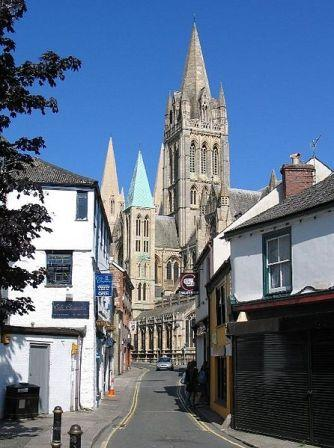 5 nights Self-Guided Cycling Cornwall, Truro town centre