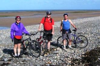6 nights Cycle W2W Walney Island to Wearmouth, The start of the W2W Walney Island