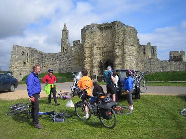 5 nights Cycling North England Newcastle Berwick, Warkwarth Castle