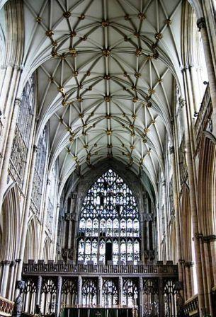6 nights Biking Englands Cathedrals York to Durham Inside York Minster